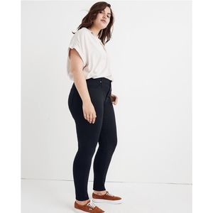 """Madewell 9"""" Mid-Rise Skinny Jeans Lunar NWT"""